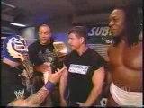 Rob Van Dam, Rey Mysterio, Booker T & Eddie Guerrero Segment