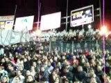 Angers-Lens: Entrée des joueurs + tifos KMS