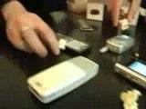 Pop Corn téléphone portable micro-ondes, une vidéo de sassie