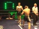 Le CHOC des GLADIATEURS 2008/kickboxing/ GALLAS VS GEORGES