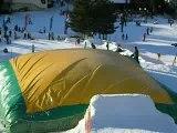 saut en ski aux 2 alpes