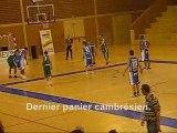 Basket : exploit de Cambrai face à Tourcoing