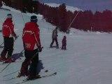 théo à ski aux Angles