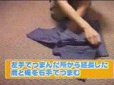 Comment plier un tee-shirt