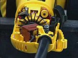 Dust Ejection System for DEWALT Small Angle Grinders