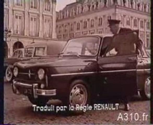 Renault 8 Major Un hamster vous parle