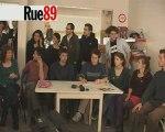 La conférence de presse des squatteurs rue de Sèvres