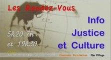 Générique 2008 #2 Info Justice Emission TV Conseils aux Victimes Interview Procureur de la République Jean Michel Prêtre TGI Tribunal Grande Instance Pointe-à-Pitre Guadeloupe France Yannis Olivier Leborgne Malahel Journaliste Juridique Canal 10 Antilles