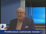 Le blog vidéo de Jean-Marie LE PEN - 13 mars 2009