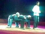 numéro de clown au cirque Arlette Gruss cité du cirque 2009
