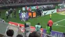 PSG-OM, ambiance au Parc et buts depuis les tribunes