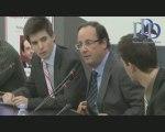 Hollande vole au secours de la mondialisation libérale