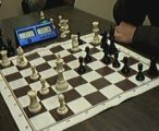 ECHECS : CHRIS 1 VS 0 YVES (TOP 14 2009)