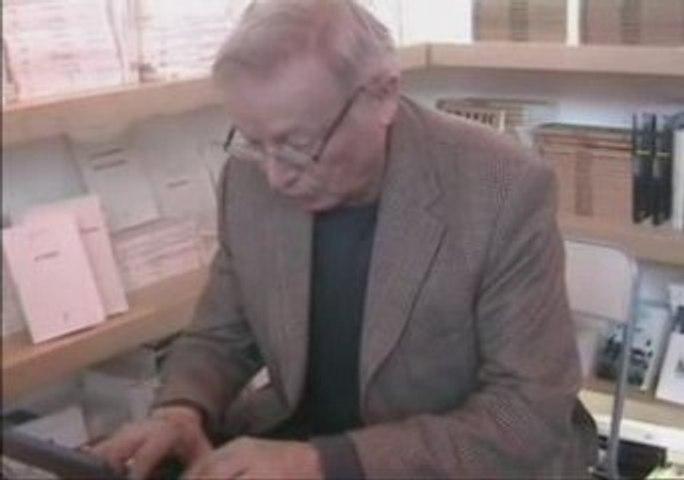 Interview éditeur Salon du livre: Paul Otchakovsky -Laurens2
