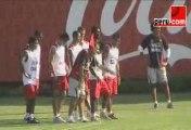Peru.com:  Entrenamientos de la selección peruana