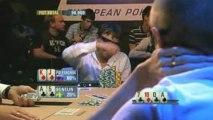 Poker EPT 4 Baden 4 way hand with Poleschuk and Sonelin