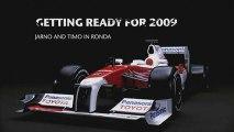 Panasonic Toyota Racing: Glock & Trulli getting ready for 09