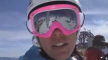 Marja Persson ski video diary from Freeride World Tour Compe