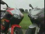 Aprilia RS 125 vs RS 250 Super Sports Motorcycle