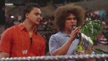 ECW The Miz y Morrison vs The Colons