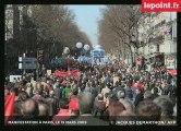 EN DIRECT DU CORTÈGE PARISIEN, LE 19 MARS 2009