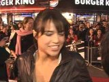 Vin Diesel speeds by at Fast And Furious premiere