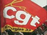 Manif interpro du 19 mars 2009 à Bordeaux CGT Energies 33