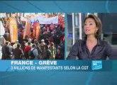 France - Grève: moins de grévistes, plus de manifestants