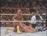 WWE WWF Wrestlemania - Hulk Hogan VS Ultimate Warrior part 1