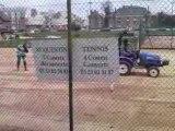 rénovation tennis terre battue SQT champs-élysées