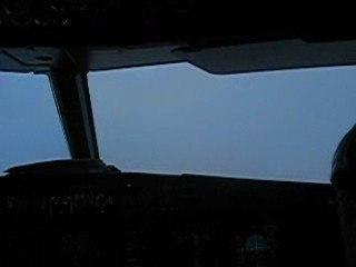 Approche Finale  Attérissage Airbus Brouillard