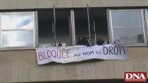 Blocage de la fac de Droit Strasbourg