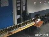 beer bottle dominos