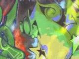 graffiti tags fresques murals peintres urbains