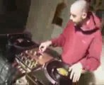 dj scratching freestyle hip hop