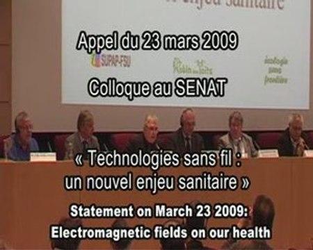 Electrosensibilité : Appel des scientifiques du 23-03-2009