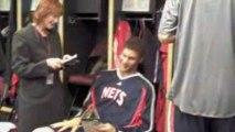NBA Go behind the scenes with Ahmad Rashad to the visitors'