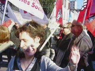Manifestation du Jeudi 19 mars 2009 (Chalon-sur-Saône)