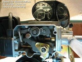 Carburateur solex 34-34 Z 1 : starter automatique