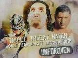 Khali Vs Rey Vs Batista unforgiven triple threat match whc