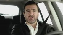 Publicité Cantona pour la Laguna Renault