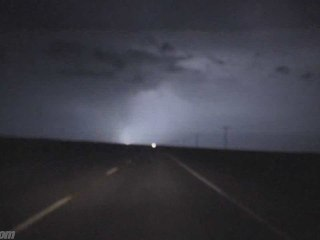 HD Lightning storm on a motorcycle/Sask. Canada/VRIDETV.com