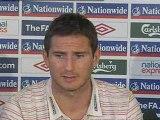 Frank Lampard on the threat of Andriy Shevchenko