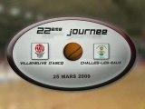 LFB 2008 2009 : J22 VILLENEUVE D'ASCQ / CHALLES-LES-EAUX