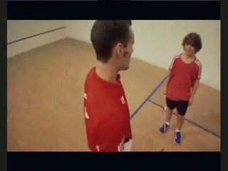 """Emission """"C'est quoi ton sport""""_Squash_Gaultier_2009"""