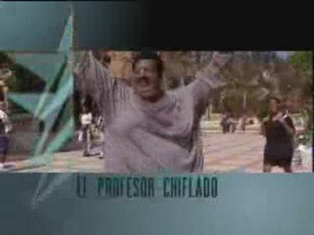 """Anuncio en CineStar de """"El profesor chiflado"""""""