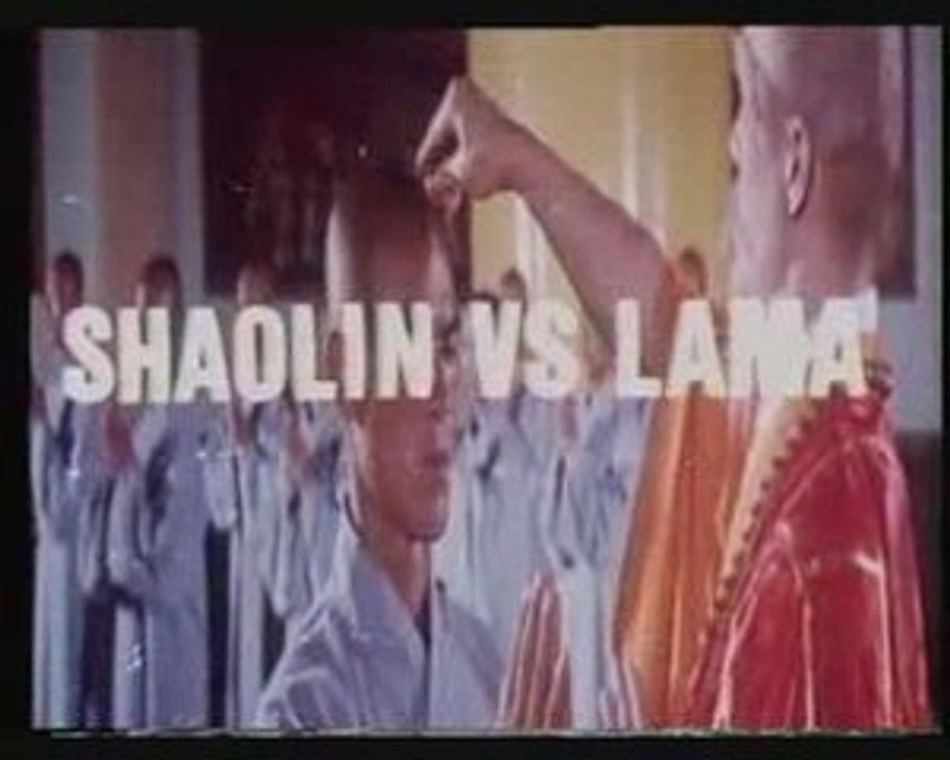 SHAOLIN VS LAMA - kung fu martial arts movie Trailer