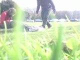 Avec Bum dans l'herbe ^^