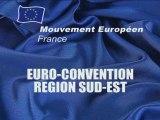 EURO CONVENTION Mouvement Européen Sud-Est Visioconférence