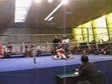 Combat de Boxe Thaï. Le Poto SAMAL à Paris pour le Championnat de France.